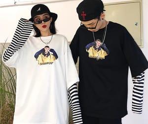 asian, couple, and Harajuku image