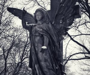 angel, angels, and cemetery image