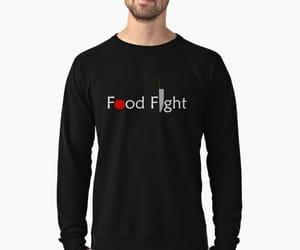 Digital Illustration, food, and food fight image