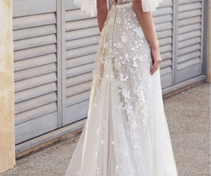 wedding, wedding dress, and fashion image