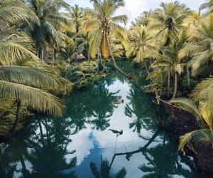 river, travel, and tropical image