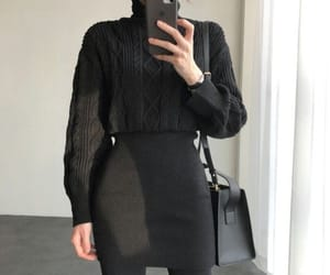 black, winter, and yesstyle image