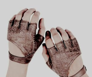 gloves, brown, and aesthetic image
