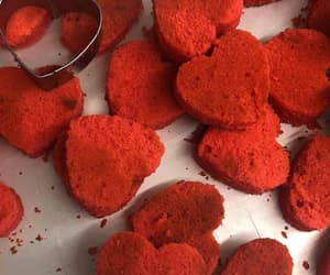 red, aesthetic, and food image