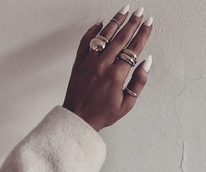 nails, accessories, and fashion image