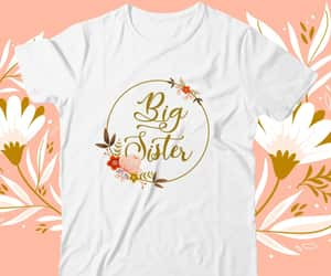 etsy, big sister shirt, and pregnancy reveal image