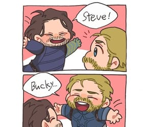 art, bucky, and fanart image