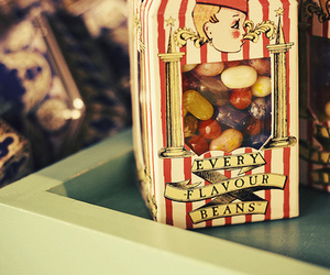 harry potter, candy, and beans image