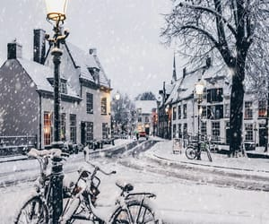 bicycles, lights, and netherlands image