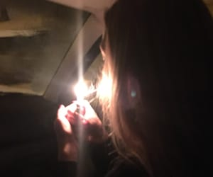 car, cigarette, and life image