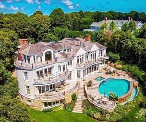villa, millionär, and reich image