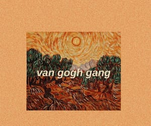 art, painting, and van gogh image