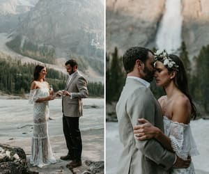 bride, couple, and groom image