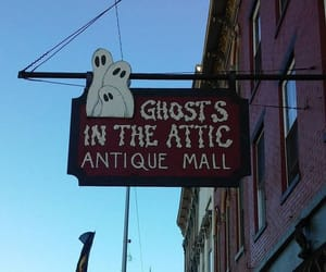 antiques, ghosts, and sign image