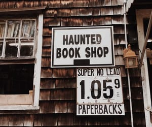 book and haunted image