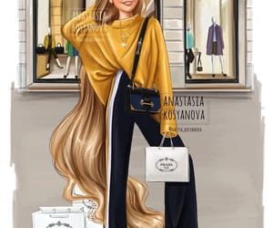rapunzel, disney, and Prada image
