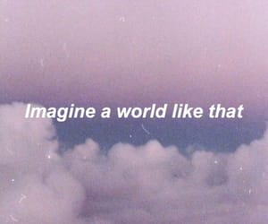 imagine, purple, and aesthetic image