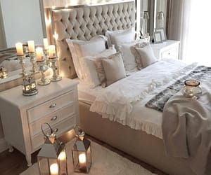 bedroom, chic, and bedroom decoration image