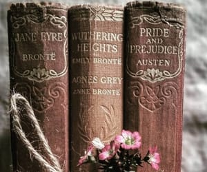 actress, book, and charlotte bronte image