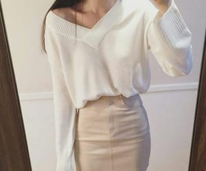 korean fashion, pastel, and outfit image
