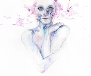 art, Ilustration, and agnes cecile image