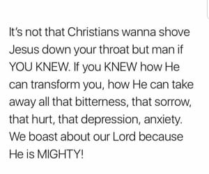 amazing, anxiety, and Christianity image