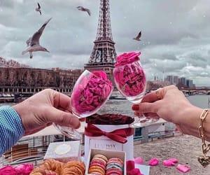 couple, pariz, and love image