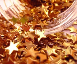 gold, shine, and sparks image