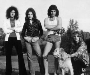 Freddie Mercury, brian may, and Queen image