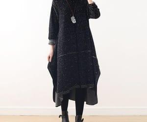 etsy, winter dress, and large size dress image