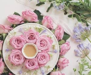 flowers, good morning, and صباح الخير image