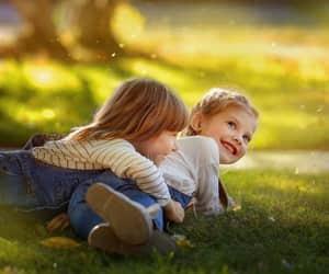 children, girl, and بُنَاتّ image