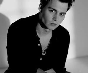 johnny depp, actor, and young image