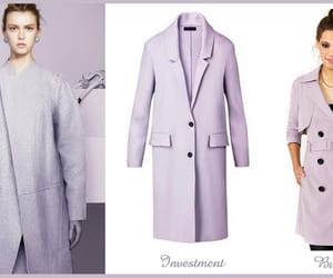 Burberry, fashion, and lilac image