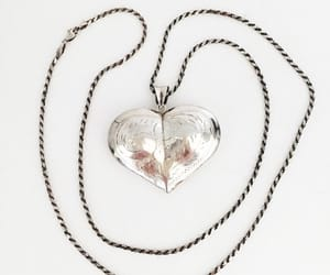 etsy, sterling silver, and valentines day image