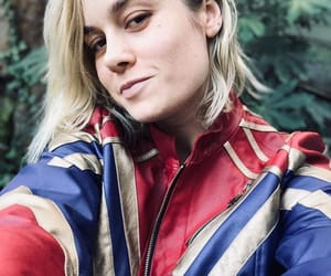 brie larson and Marvel image