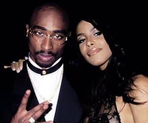 aaliyah, tupac, and 2pac image