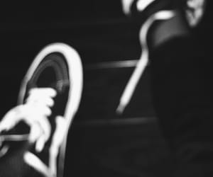 aesthetic, vans, and black image