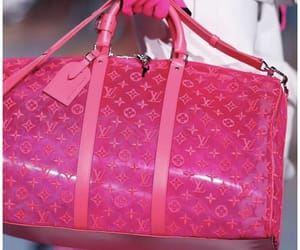 Louis Vuitton and pink image