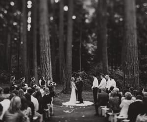 bride, wedding, and couple image