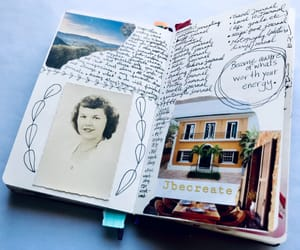 journal, journaling, and journals image
