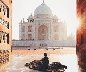 allah, islam, and taj mahal image