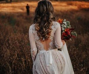 wedding dress and wedding image