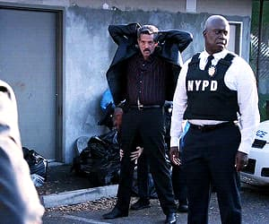 gif, brooklyn nine nine, and raymond holt image