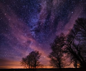 galaxy, milky way, and night image