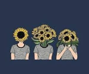tumblr, header, and sunflower image