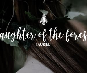 aesthetic, the hobbit, and tauriel image