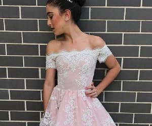 wedding dresses, pink prom dresses, and homecoming dress image
