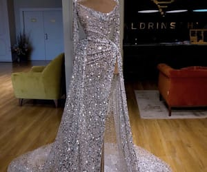 dress, fashion, and glam image