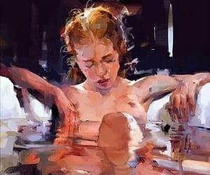 art, hurt, and Nude image